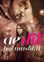 Ae Dil Hai Mushkil Movie - Lyricsaio