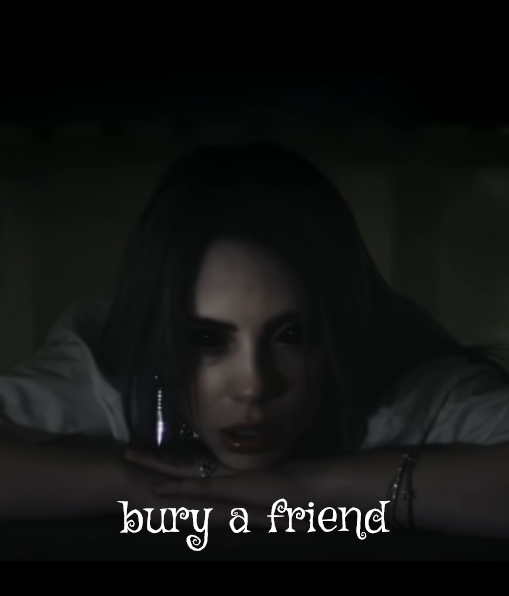 bury a friend Lyrics